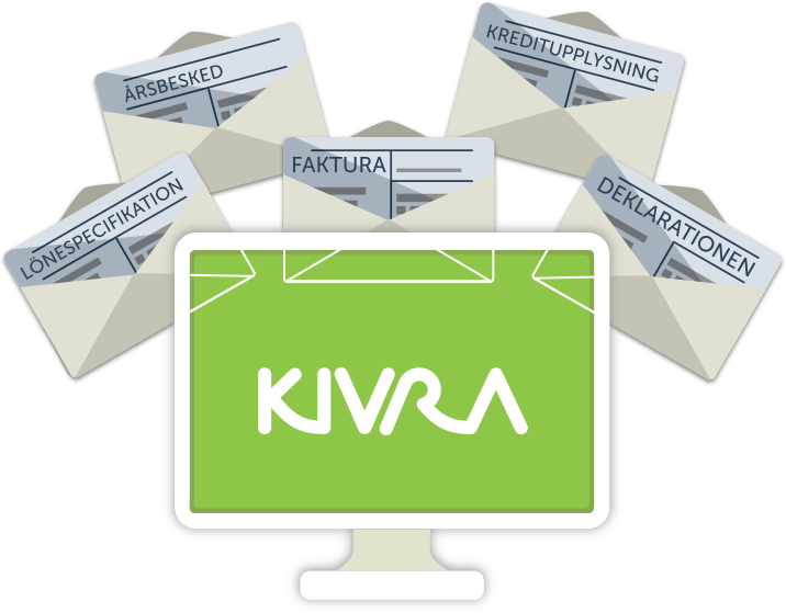 Kivra - Få dina brev digitalt